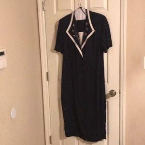 Lady Dorby Dress Size 20W Dark Blue